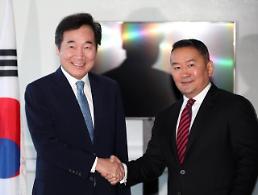 .韩总理在俄会晤蒙古国总统.
