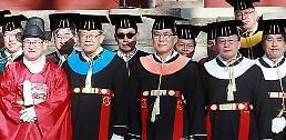 ".[AJU VIDEO] 韩国""儒教""大学和""基督教""大学毕业典礼."
