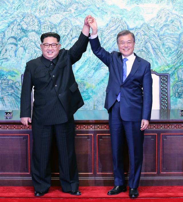 韩朝首脑两天两会 19日或发表协商成果