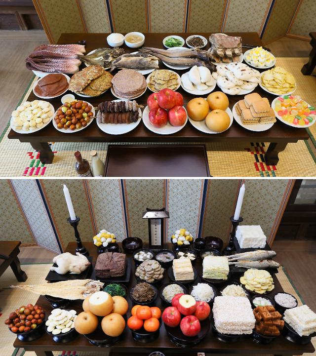 同是中秋祭祀饮食  韩国和朝鲜有啥不一样