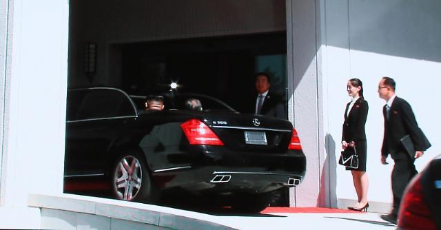 韩朝首脑今下午3时30分举行会谈