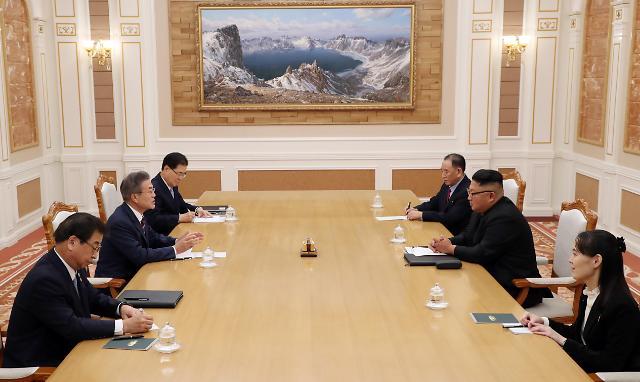 <快讯>金正恩承诺尽早访问首尔