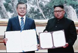 .[SUMMIT] Two Koreas agree to set up true buffer zone along border.