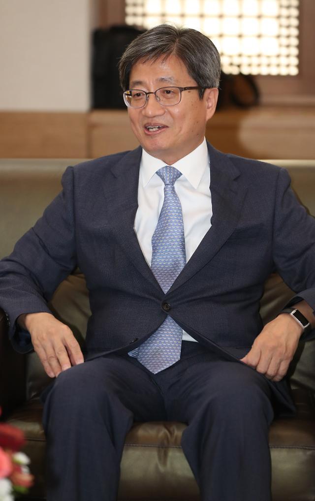 """김명수 대법원장 """"법원행정처 폐지, 사법행정회의에 권한 이양"""""""