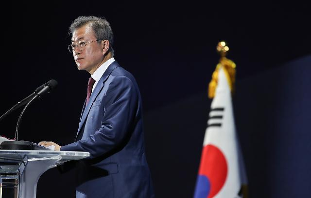 [SUMMIT] Kim want quick conclusion of nuclear talks to focus on economy: Moon