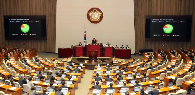 상가임대차보호법·규제프리존법·인터넷은행특례법 등 쟁점법안 국회 통과