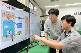 .S. Korean researchers develop biometric identification tool for PC.