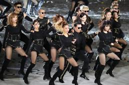 .Rapper Psy commemorates S. Koreas Armed Forces Day with dance performance.