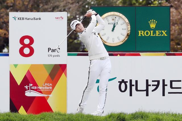Park Sung-hyun takes share of LPGA lead on home soil: Yonhap