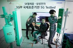 .SK Telecom and Samsung test 5G commercial equipment.