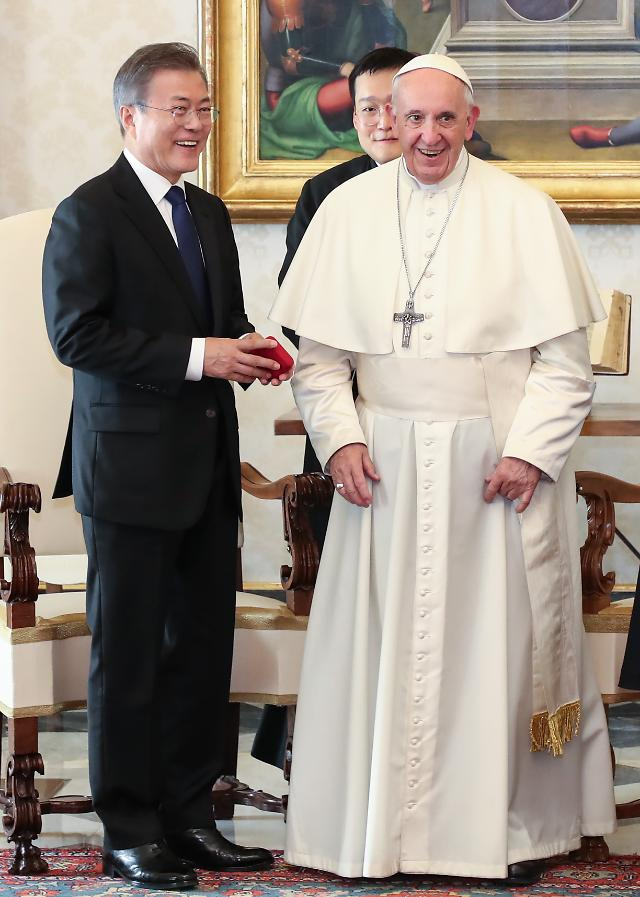 Pope Francis expresses willingness to visit Pyongyang: Yonhap