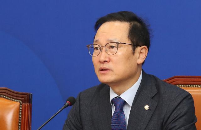 """홍영표 """"서울교통공사 친인척 채용 비리 단연코 없다"""""""