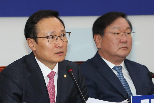 """홍영표 """"공공기관 채용비리 의혹, 사실관계 확인 선행돼야"""""""
