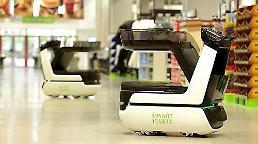 .LG Electronics to co-develop autonomous shopping cart with retail giant Shinsegae.