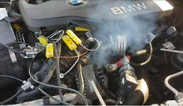 .Experts blame exhaust gas control valve for causing BMW car fire.