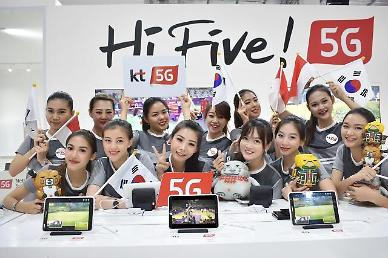 .KT selects Samsung, Nokia and Eriksson as 5G equipment provider.