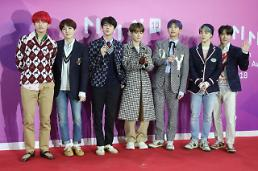 .BTS becomes first K-pop act to enter Billboards year-end charts.