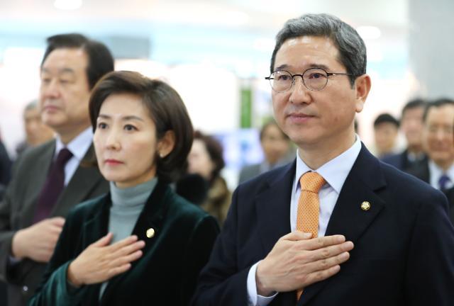 한국당, 김학용 vs 나경원…오늘 원내대표 선출