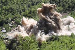 .Extent of destruction to shut down nuclear test site remains unclear, 38 North.