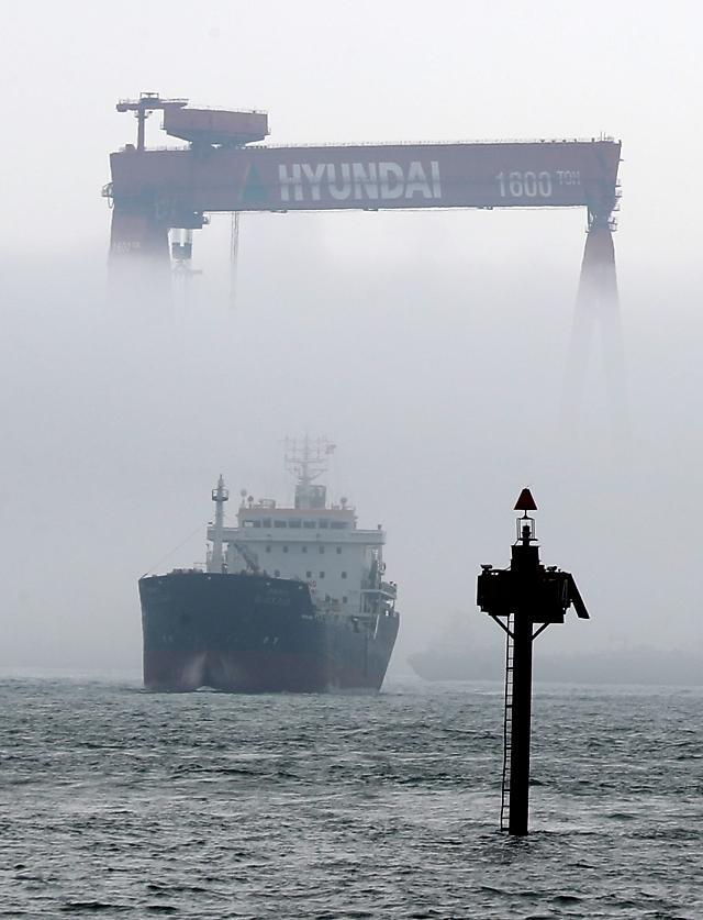 Hyundai shipyard achieves this year's target of shipbuilding orders