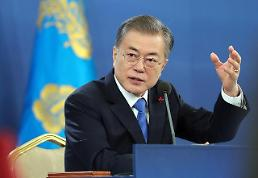 .President Moon gets tough over diplomatic row with Japan.