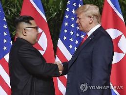 .Trump expects talks with N. Korean leader next month: Yonhap.