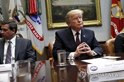 Trump defends progress with N. Korea ahead of summit: Yonhap