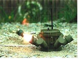 .S. Koreas military deploys remotely-delivered mines.