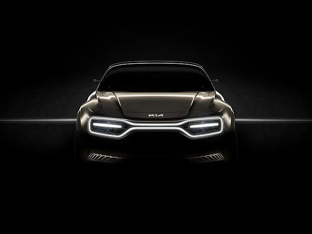 Kia Motors releases teaser image for new all-electric concept car