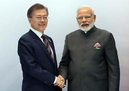 S. Korea and India agree to step up cooperation in military and space sectors