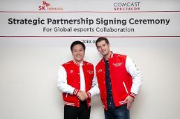 .SK Telecom and Comcast agree to establish esports joint venture.
