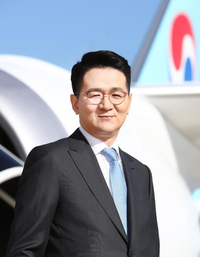Only son of Hanjin's late patriarch becomes new group chairman in quick decision