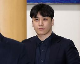 .Police seek arrest warrant for Seungri and business partner for arranging sex services for investors.