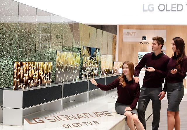 047ae4eaa211 LG Electronics to release world's first rollable OLED TV later this year