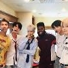 .​American singer Khalid hints at collaboration with K-pop band BTS.