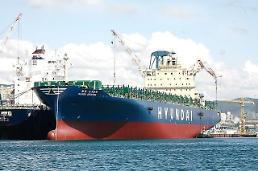.Talks under way to provide material support to Hyundai Merchant Marine.