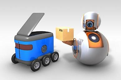 .LG Electronics and SK Telecom agree to develop 5G robot technology.