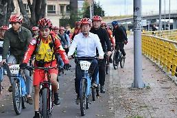 Mayor Park benchmarks Bogota to build new bicycle highway in Seoul
