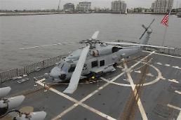 .Washington endorses sale of 12 MH-60R helicopters to enhance S. Koreas anti-submarine capability.