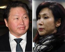 .SK chairmans wife decides to end marital life and seek asset division.