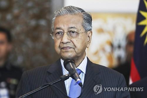 [NNA] 말레이시아 마하티르 총리, 타임 선정 영향력 100인에