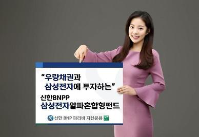 신한BNP파리바자산운용 , '삼성전자알파혼합형펀드' 선봬