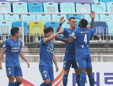 K리그1 수원, 인천 제압하고 시즌 첫 승 수확