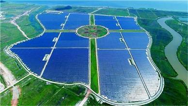 한양, 국내 최대 태양광발전소 준공…신재생 에너지 진출 본격화