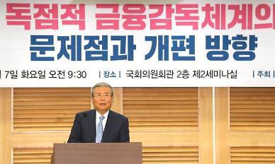 김종인, 옵티머스·라임 사태에 금감원 무슨 기능?…지나치게 정권 간섭