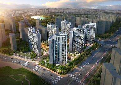 용죽지구 마지막 브랜드 새 아파트 e편한세상 비전 센터포레 이달 분양
