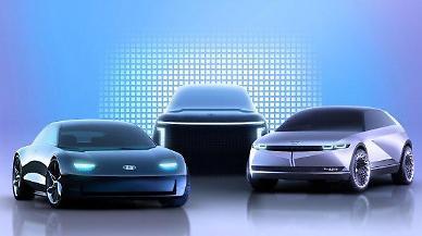 현대차, 전기차 브랜드 아이오닉 공개....4년 내 3종 출시
