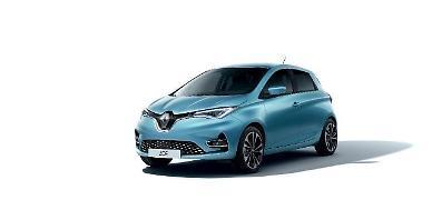 유럽 판매 1위 전기차 르노 조에 한국 출시...최대 309km 주행