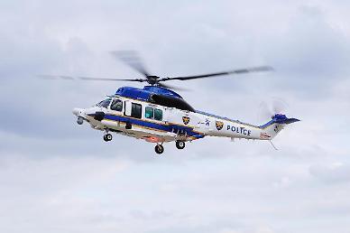 KAI, 국산헬기 참수리 정부 공급 확대된다...경찰청과 2대 추가 계약