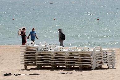 전국 해수욕장 22일 자정부터 모두 폐장...거리두기 2단계 전국 확대
